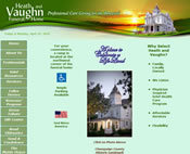 Heath and Vaughn Funeral Home