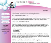 We Keep It Kleen cleaning service